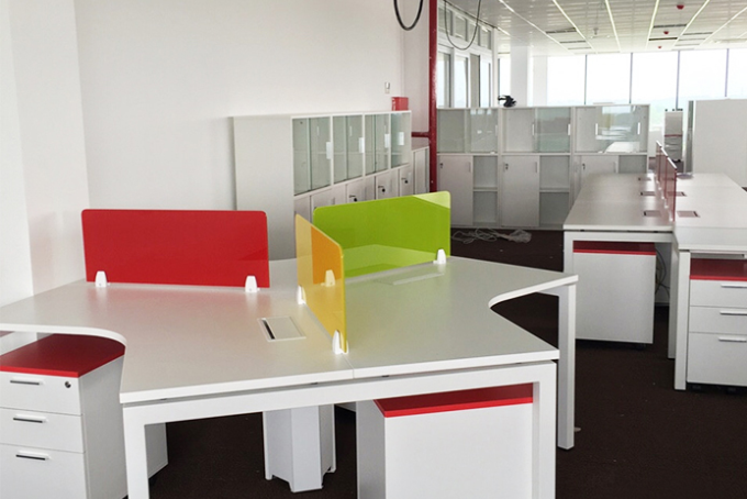 Construction of office furniture for Ly Bao Minh Company