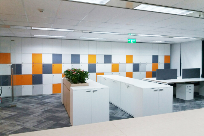 Construction of office furniture FWD