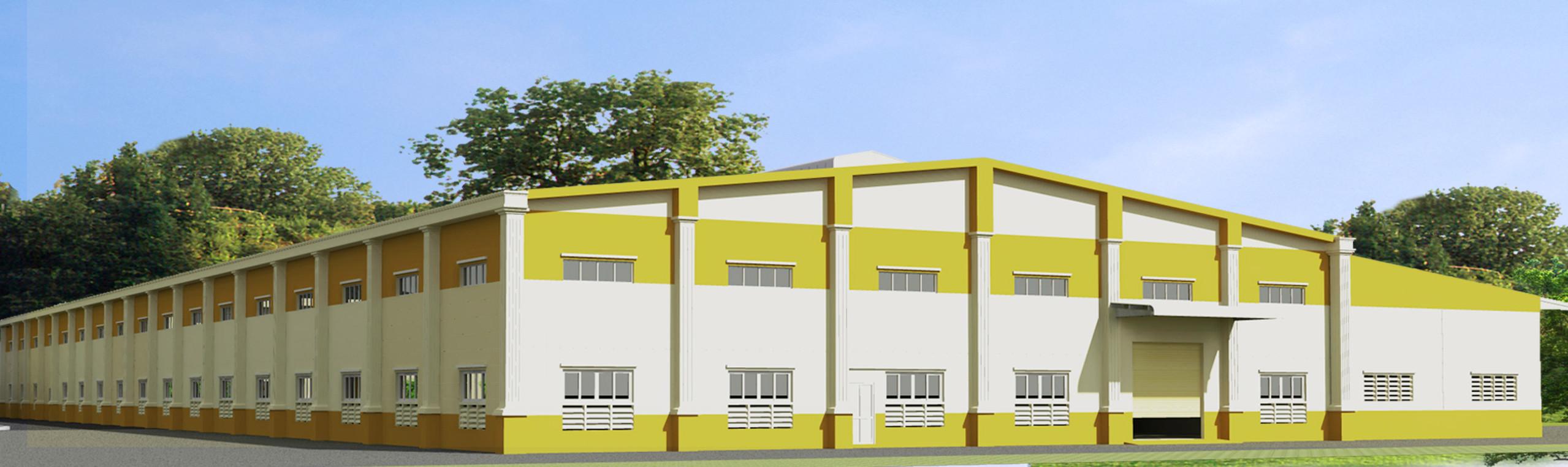 Factory design of DI YU SHENG Company