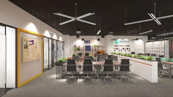 MOG Hanoi office interior design project