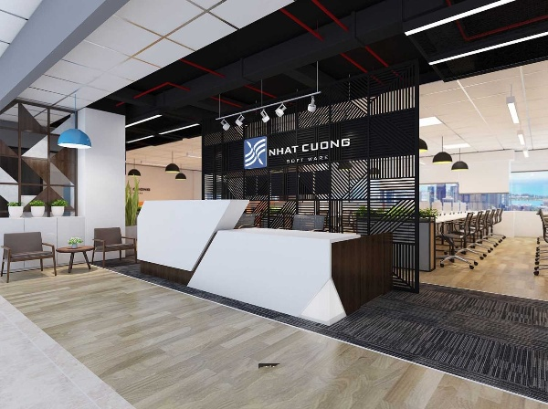 Interior design of Nhat Cuong Software office in Hanoi