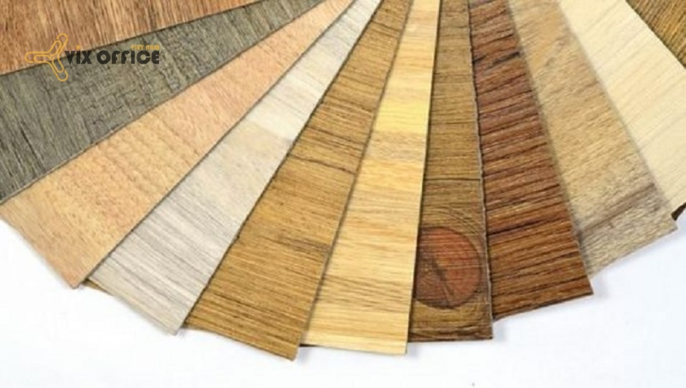 Interior design materials are made from woods