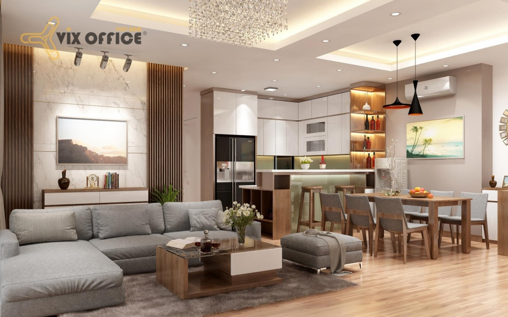 The living room design requires both comfort and personal taste