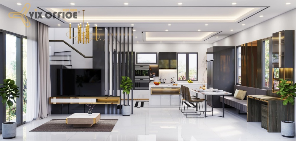 The design for house brings comfortable and relax feeling