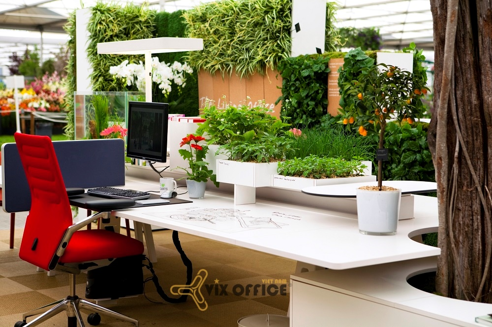 Creates green trees for customers and employees