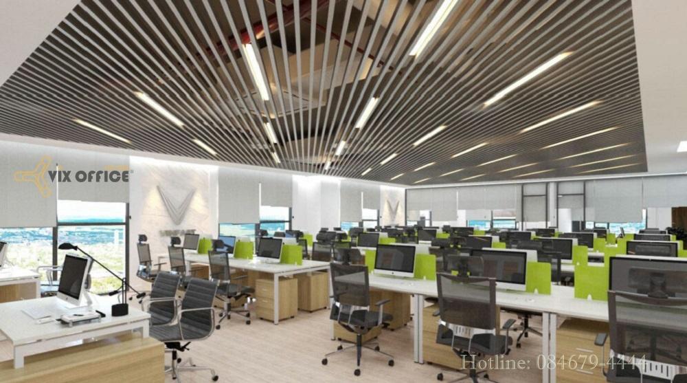 A professional office interior design