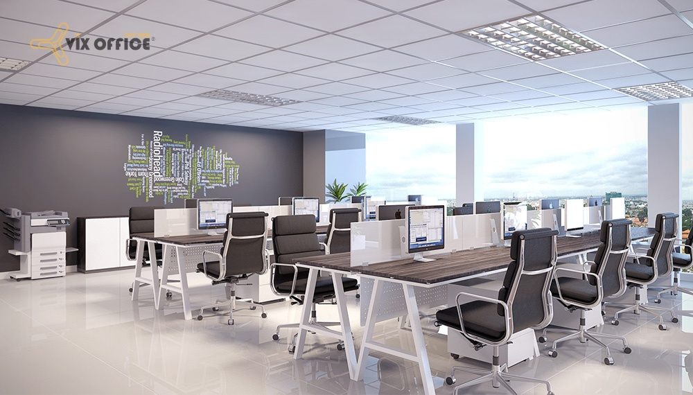 Office furniture models are unique and popular in Vietnam