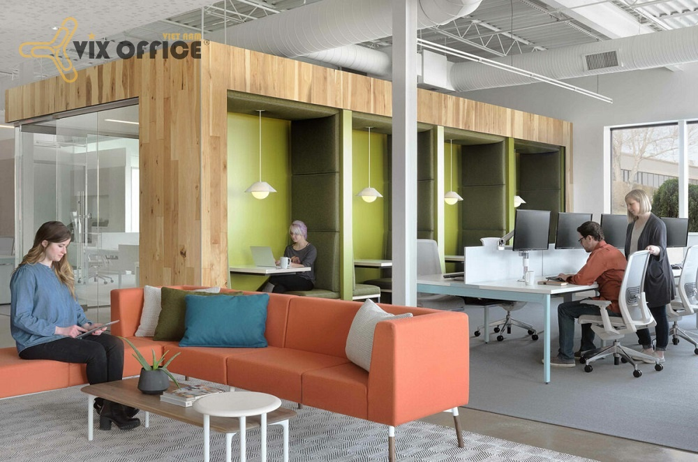 The unique office design will be popular in the next coming years