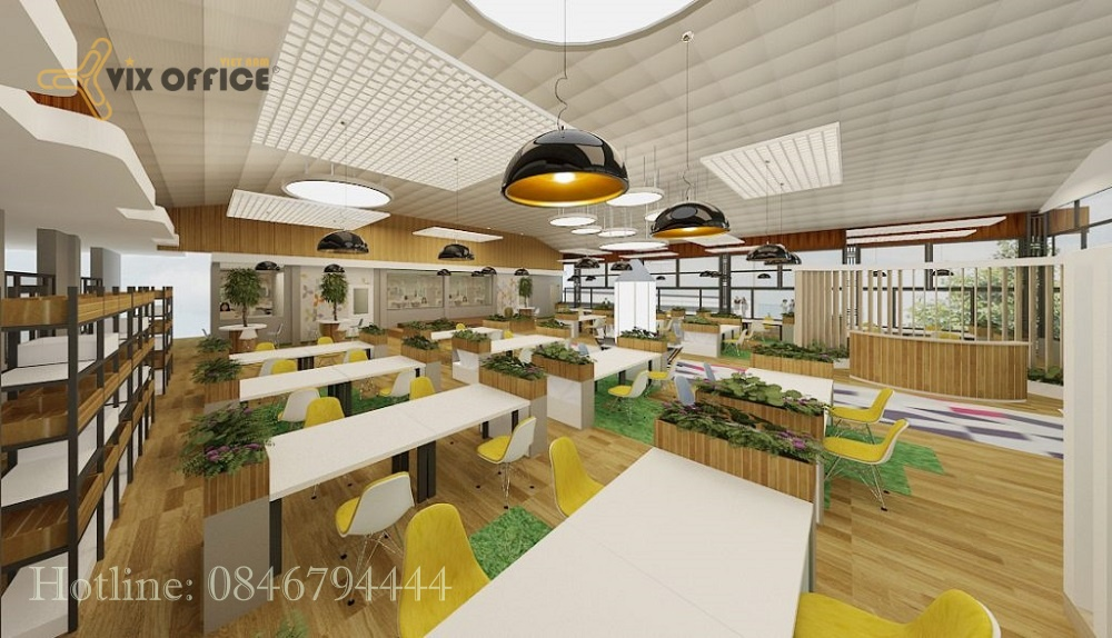 Discussion about office design in Vietnam