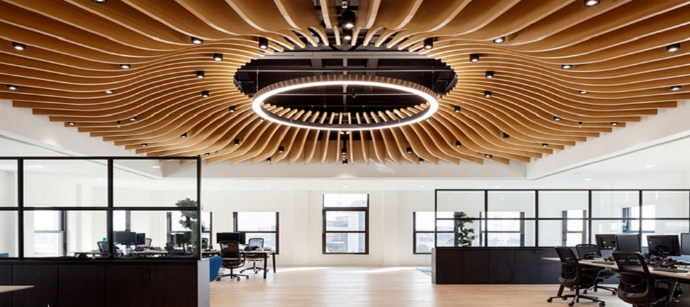 Color factor affects the office interior design in 2021