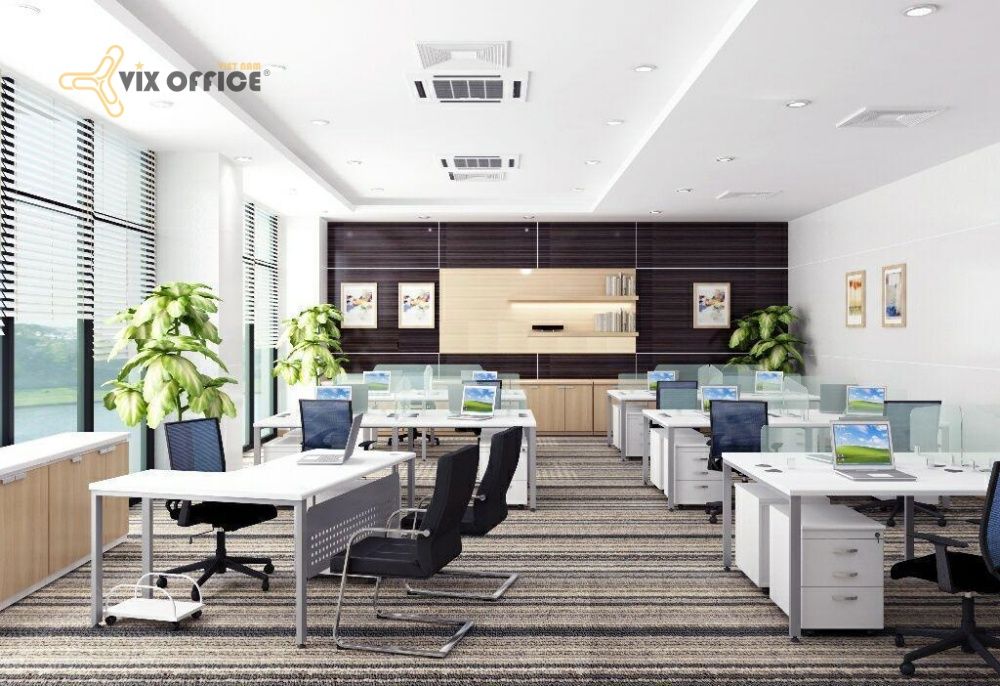The professional design helps to create a comfortable and productive working space