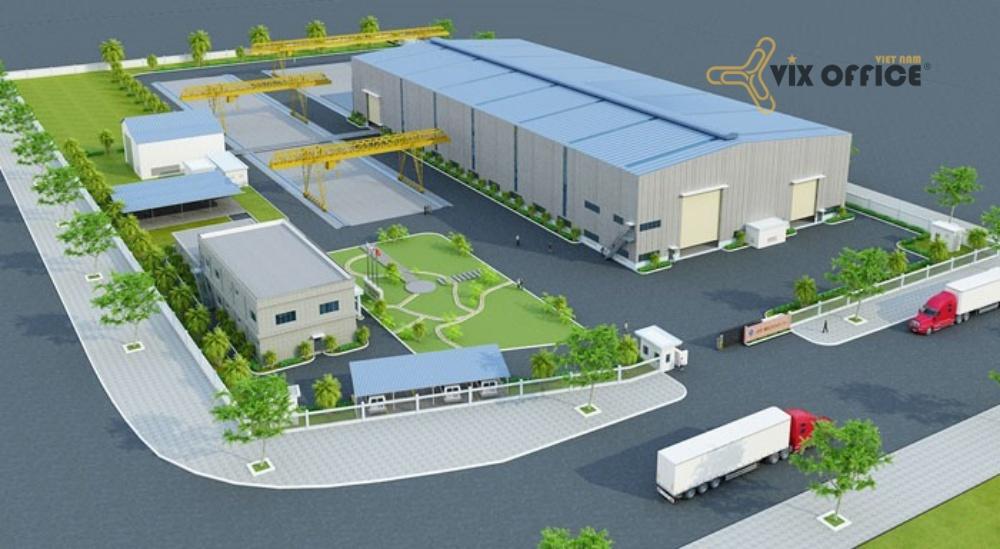 Factory construction design - JFE Vietnam Mechanical factory