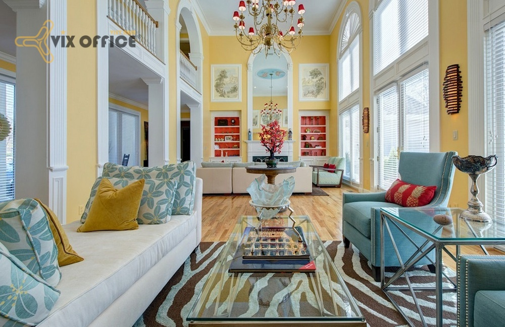The proportion law influences on designing interior